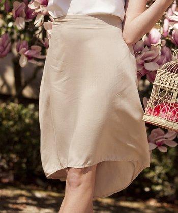Tan Magnolia Skirt