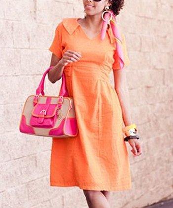 Orange Bianca Dress