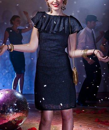 Black Winter Ball Dress