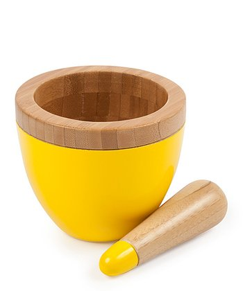 Core Bamboo Banana Mortar & Pestle