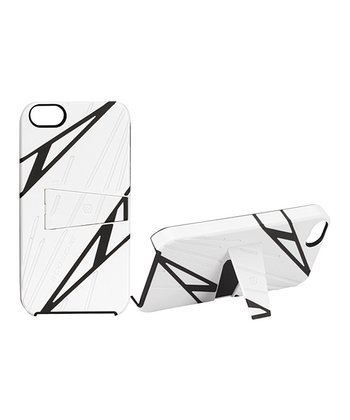White Sport Style kickBACK Case for iPhone 5
