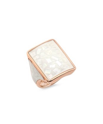 Rose Gold & Mother-of-Pearl Ring
