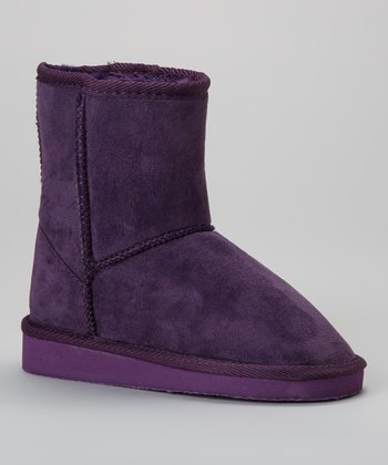 Purple Medium Boot
