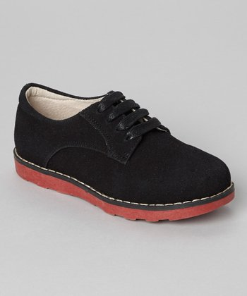 Black Suede Comfort Shoe