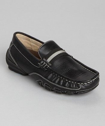 Black Academy Loafer