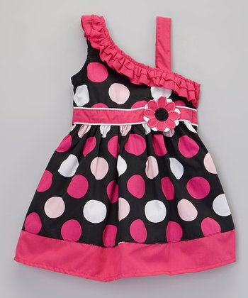 Poplin Sundress Polka Dot - Toddler