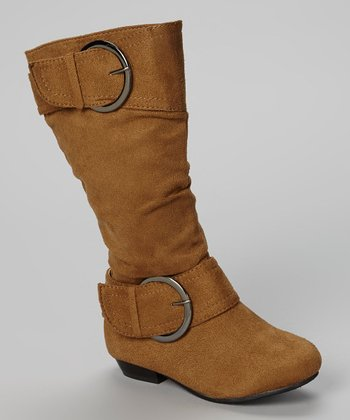 Tan Tiffany Boot - Kids
