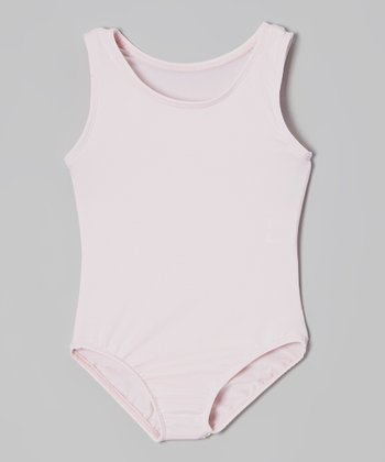 Pink Tank Leotard - Toddler & Girls
