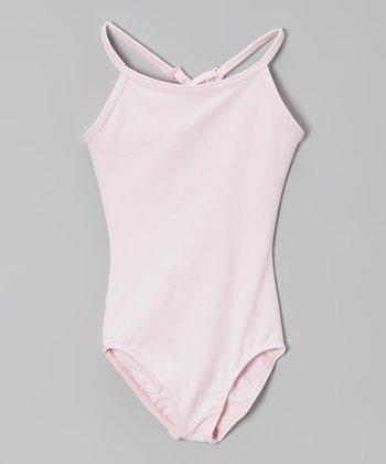 Pink Camisole Leotard - Toddler & Girls