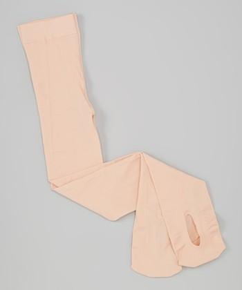 Ballet Pink Convertible Tights - Girls
