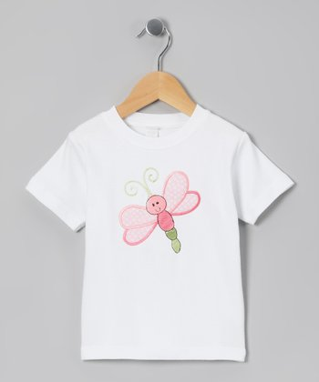 White Firefly Tee - Toddler