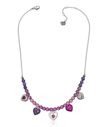 Fuchsia Starlet Necklace