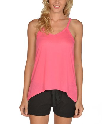 Hot Pink Racerback Tank - Women