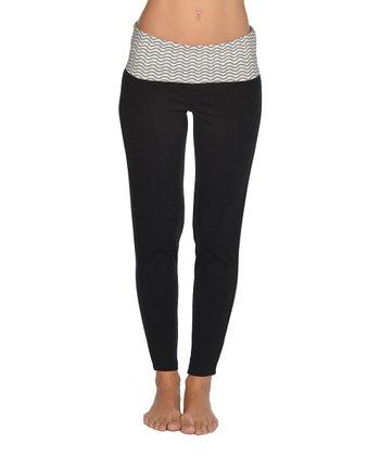 Lagaci Charcoal & Black Pants