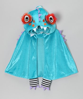 Blue Mr. Hammerstein Monster Cloak - Toddler & Kids