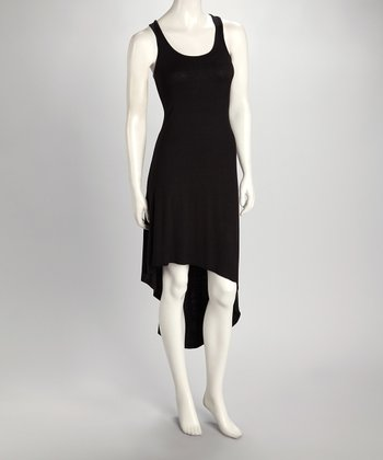 Black Hi-Low Tank Dress