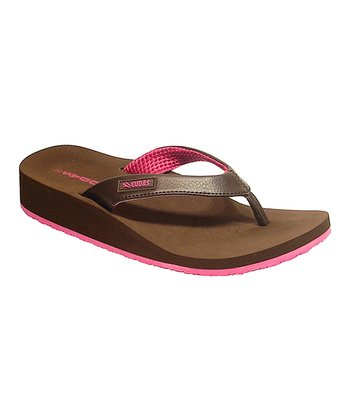 Brown Del Ray Flip-Flop