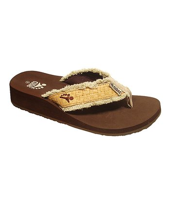 Brown Alice Flip-Flop