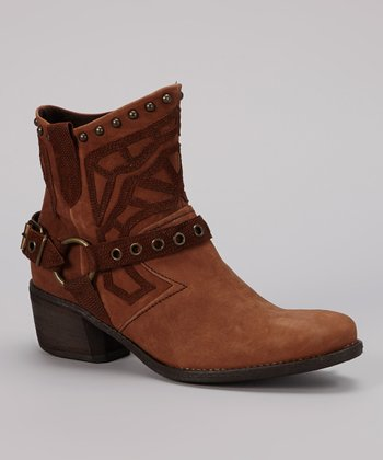 Legno Brown Ellie Ankle Boot