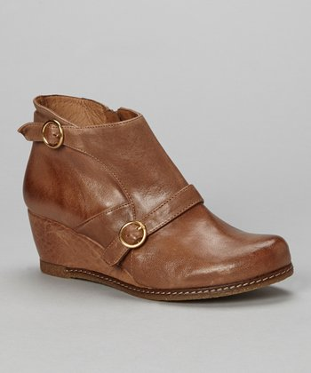 Taupe Aurora Wedge Ankle Boot