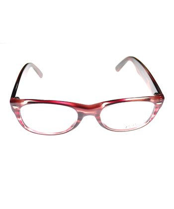 Red Stripe Eyeglasses