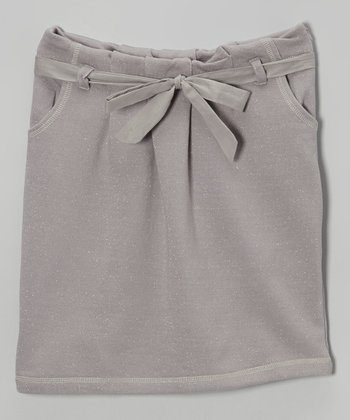 Gray Petra Skirt - Girls