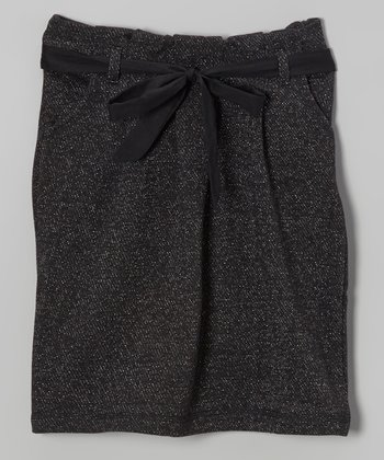 Black Petra Skirt - Girls