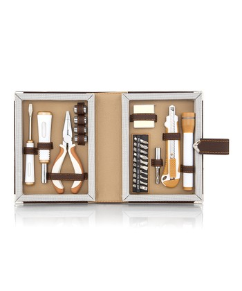 Brown Book Tool Kit Set