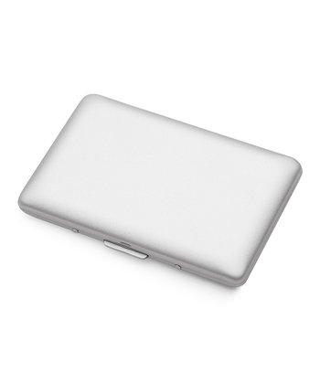 Silver Matte Card Holder