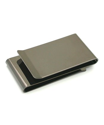 Gun Metal Double-Sided Money Clip