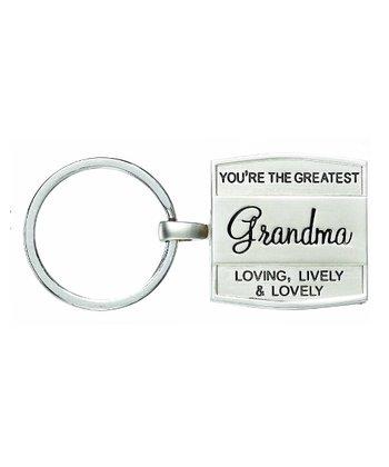 GANZ 'Grandma' Photo Locket Keychain