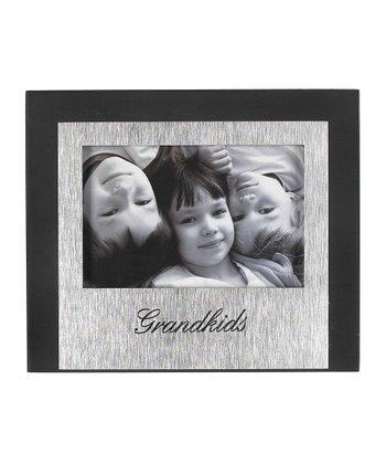 GANZ Black & Silver 'Grandkids' Frame