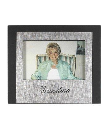 GANZ Black & Silver 'Grandma' Frame