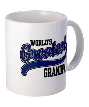 White 'World's Greatest Grandpa' Mug