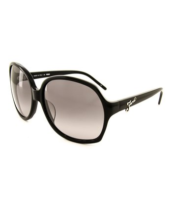 Black Oversize Glamour Sunglasses