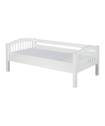 White Arch Spindle Day Bed