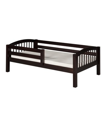 Cappuccino Arch Spindle Guardrail Day Bed