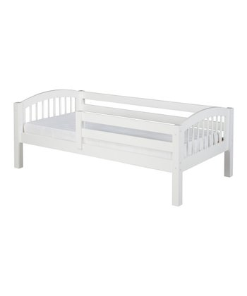 White Arch Spindle Guardrail Day Bed
