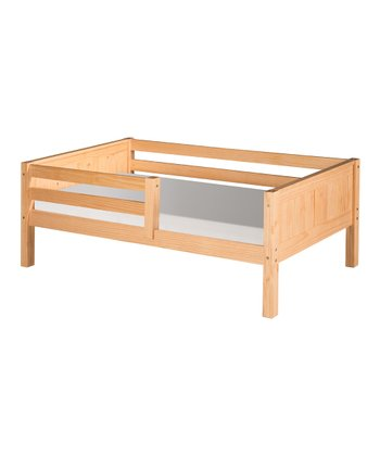Natural Panel Guardrail Day Bed
