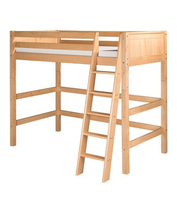 Natural Panel High Loft Bed