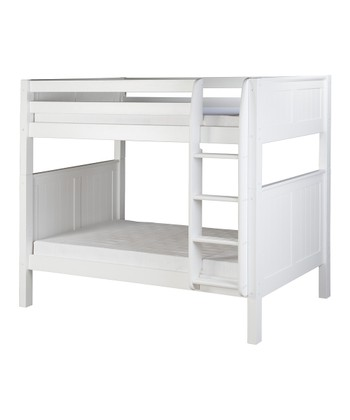 White Panel Bunk Bed