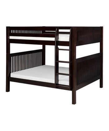 Cappuccino Mission Full Bunk Bed