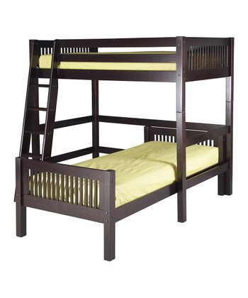 Cappuccino Mission Twin Loft Bunk Bed