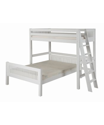 White Mission Twin & Full Loft Bunk Bed