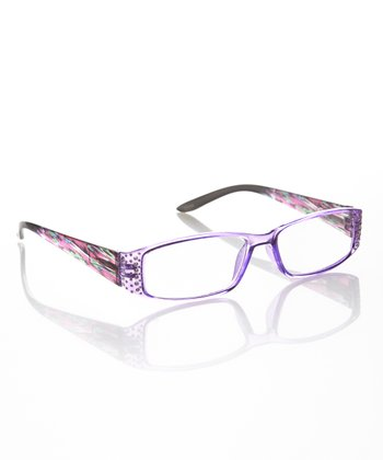 Purple Rhinestone Readers