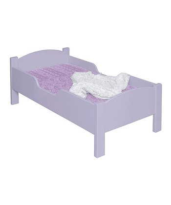 Lavender Toddler Bed