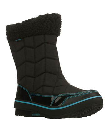 Black Alpine Valley Highlander Boot
