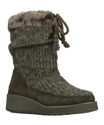 Gray Suede Lofty Visioneers Boot