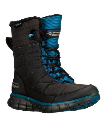 Black Synergy Friction Boot