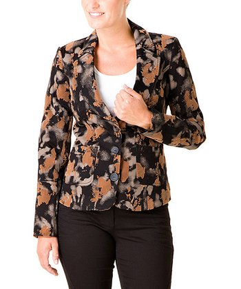 Black & Brown Osea Blazer